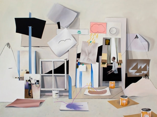 Fiona Ackerman, A Vocation by the Sea 2013, 171,5 x 228,5, Acryl auf Leinwand