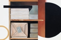 Dokument X 2013, 110 x 195 cm, Öl auf Leinwand