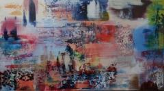 Glasmacher_Ultramarin-Kadmiumorange_2016_100 x 80cm