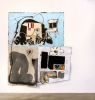 Taylor A. White, Letter to Pilot, 2017, 230 x 205 cm, Mischtechnik auf Leinwand