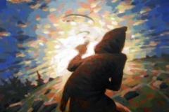 Kite, Öl auf Leinwand, 50 x 70cm, 2018