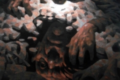 Ripples, Öl auf Leinwand, 50 x 70cm, 2018