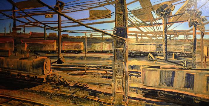Schwerin II, 100 x 180 cm