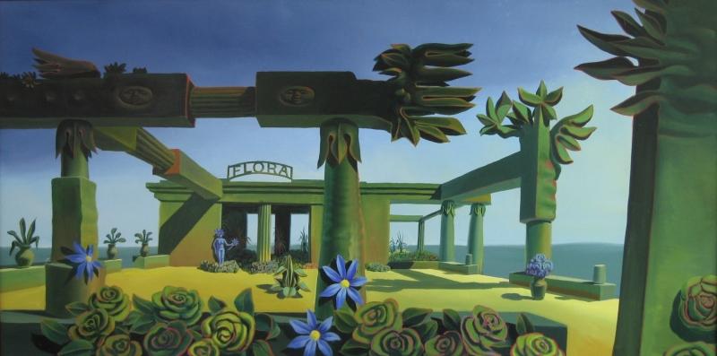 Paul Schwietzke, Lasst Blumen sprechen 100x200 AaL2012