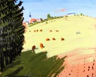 Peter Angermann, Sehners Kühe