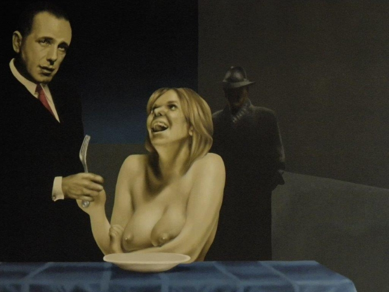 Roland Delcol, O.T., 60 x 80 cm, Öl auf Leinwand