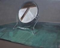 Timur Celik, mirror, 45 x 55 cm 2015