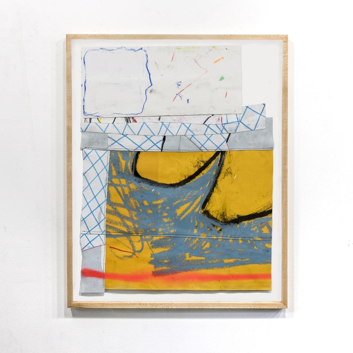 Hot Dog, Bird Sound, Infatuation, 2018, Mixed Media on Canvas, 76 x 61 cm