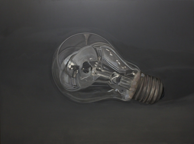 bulb.200x150 cm,oil on canvas,2012
