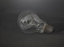 bulb.200x150 cm,oil on canvas,2012