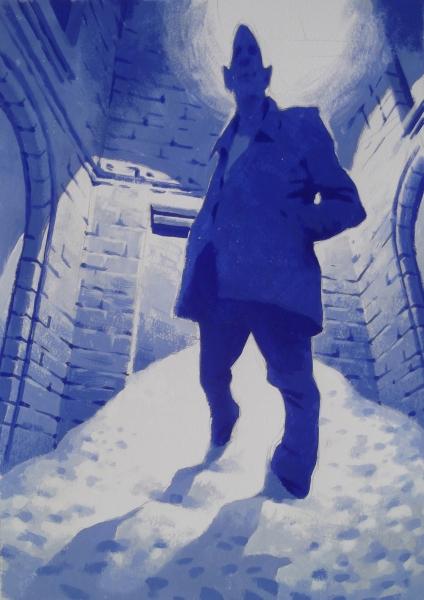 Vitaly Medvedovsky-Doorman 48 x 36 cm