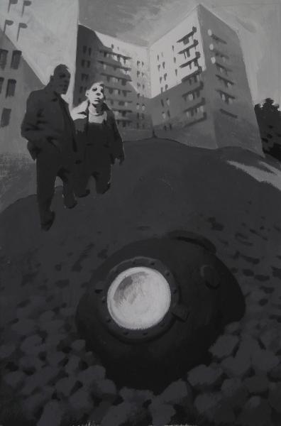 Vitaly Medvedovsky-Hill 48 x 36 cm