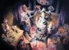 Vitaly Medvedovsky, Plan, 2016, 180 x 250 cm, Öl auf Leinwand