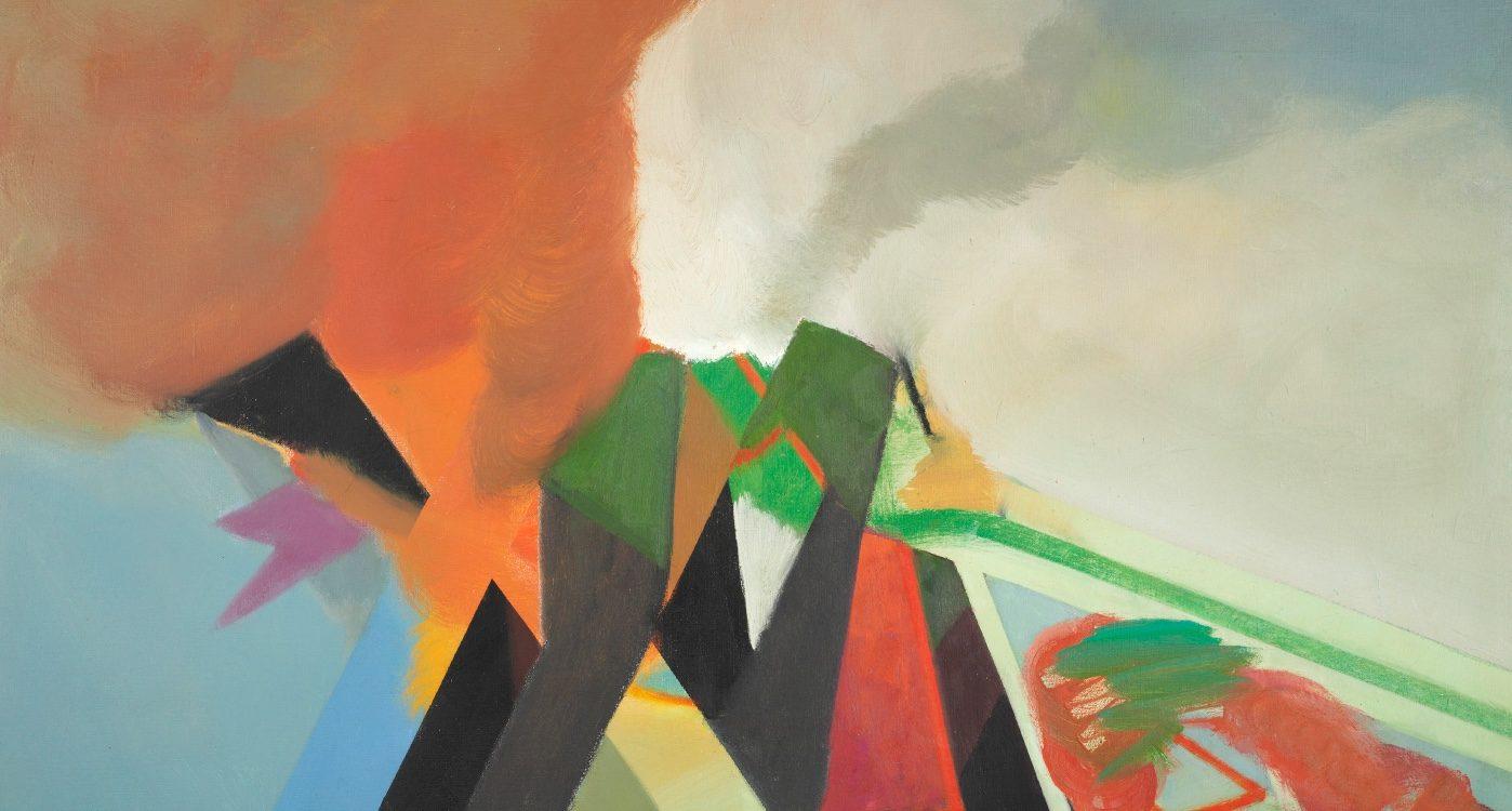 Ernst Weil Industrielandschaft aus der Ausstellung Landscapes
